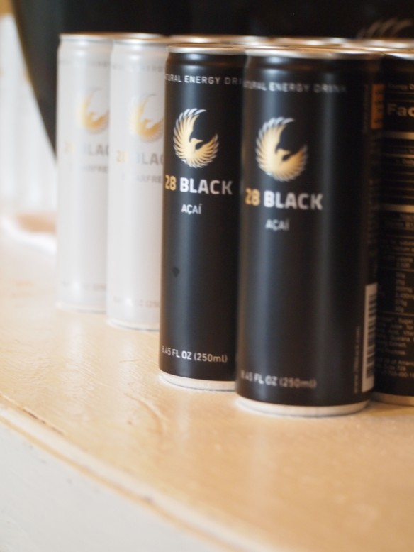 New Energy drink, 28 Black, presented at Cayman Cookout 2014